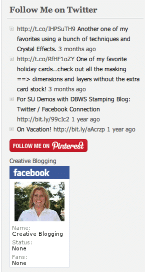 Pinterest-in-sidebar