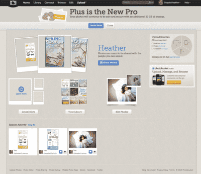 Photobucket Changes – New look, new tools, new things to get used to.
