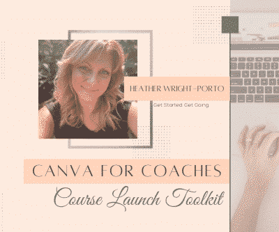 Canva for Coaches Course Launch Toolkit