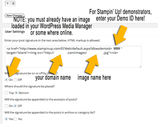 Cool Tool For WordPress Users: WP Post Signature plugin